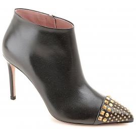 Gucci Knöchel Stiefeletten für Frauen handgemacht aus schwarzem kalbsleder