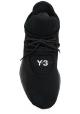 Y-3 Freizeitschuhe für Männer In schwarzem technischen Stoff mit Gummisohle