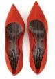 Dolce&Gabbana Pumps mit hohem Absatz für Frauen aus gebrannt wildleder