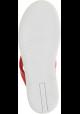 Prada Flip-flops schuhe für Frauen in rotem farbe und leder mit Gummisohle