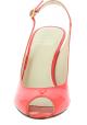 Stuart Weitzman Stiletto absatz sandalen für Frauen in rotem lackleder