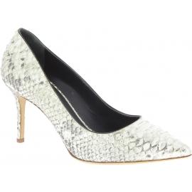 Giuseppe Zanotti Stiletto Pumps Schuhe für Frauen aus platin pythonleder