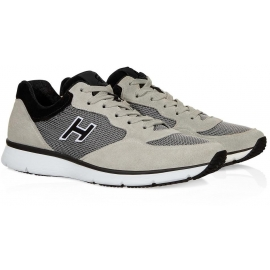 Hogan Sneakers traditionelle 20.15 in Beige Wildleder