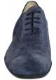 Jean-Baptiste Rautureau Schnürschuh aus blauem Wildleder
