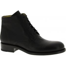 Jean-Baptiste Rautureau Stiefeletten Schuhe für herren aus schwarzem leder
