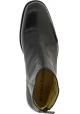 Jean-Baptiste Rautureau Stiefeletten mit zip für herren aus schwarzem leder