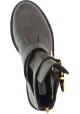 Steve Madden Stiefeletten für Frauen in dunkelbraun leder zip und schnalle