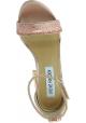 Steve Madden Sandalen mit hohen Absätzen für Frauen in rosa pailletten
